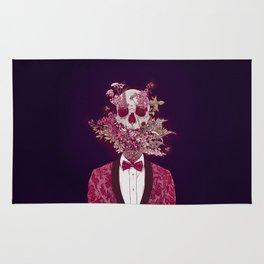 Skull Blossom Rug