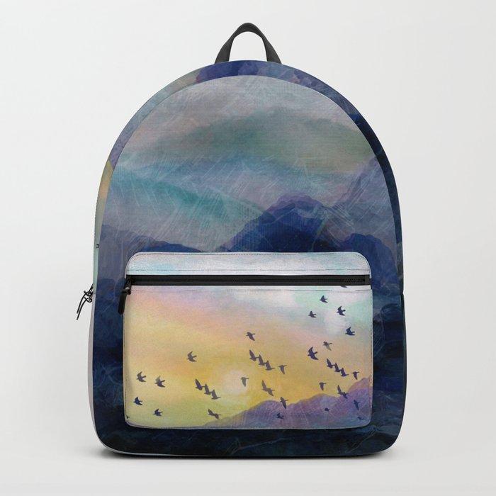 Mountain Sunrise Backpack