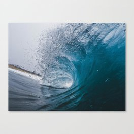 Great Surf Canvas Print