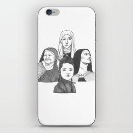 Women Doctors of the Church iPhone Skin