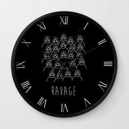 Ravage Wall Clock