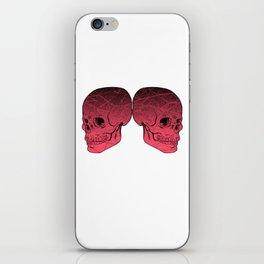 Red Skulls iPhone Skin