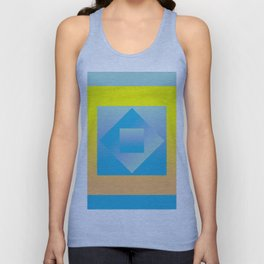 reflection Unisex Tank Top