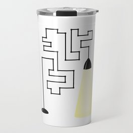 Really modern lamp Travel Mug