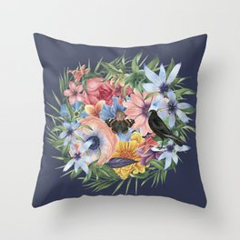 SPRING IV Throw Pillow