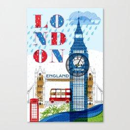 London Travel Canvas Print
