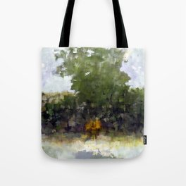 Be aware to beware your plodding doesn't undercut. Tote Bag
