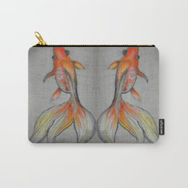Goldfish Pond (close up #6) #society6 #decor #buyart Carry-All Pouch