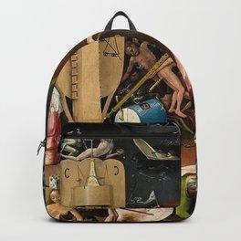 The Garden of Earthly Delights Bosch Hell Bird Man Backpack
