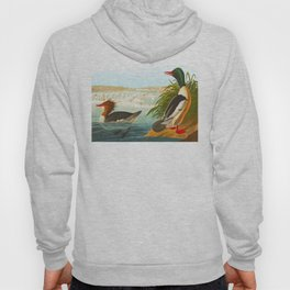 Goosander or Common Merganser Hoody