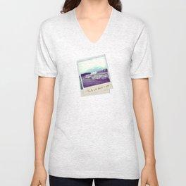 Fourth Sand Polaroid  Unisex V-Neck