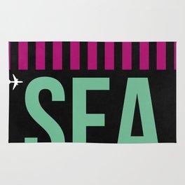 SEA Seattle Luggage Tag 2 Rug