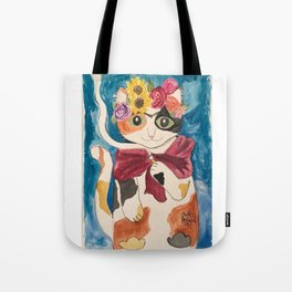 Frida CATlo Tote Bag