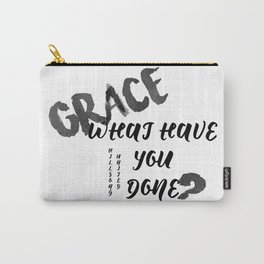 Grace What Have You Done Hillsong United Carry-All Pouch