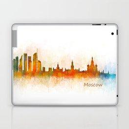 Moscow City Skyline art HQ v3 Laptop & iPad Skin