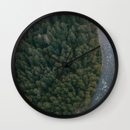 Sandy River Wall Clock