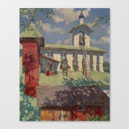 VINOGRADOV, SERGEI (1869-1938) Pechersky Monastery. The Belfry Canvas Print