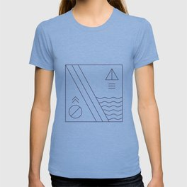 Native & modern geometric pattern 03 T-shirt