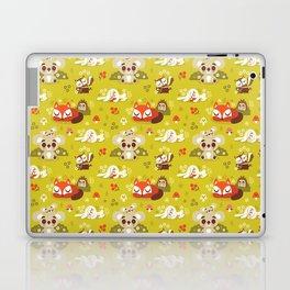 Sleeping Woodland Animals Laptop & iPad Skin