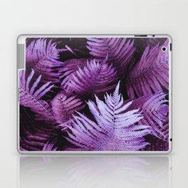 Purple Pink Stem Leaves Laptop & iPad Skin