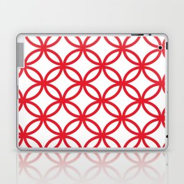 Interlocking Red Laptop & iPad Skin