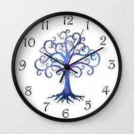 Twilight Tree Wall Clock