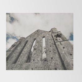 The Rock of Cashel Throw Blanket