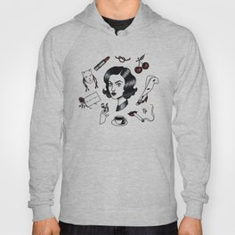 audrey horne collage Hoody