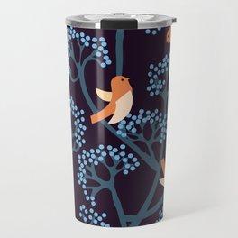 Birds Are singing Travel Mug