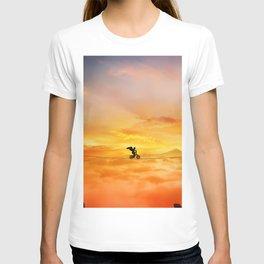 sunset balance T-shirt