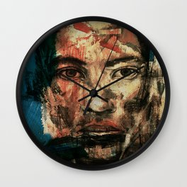 The Human Race 2 Wall Clock