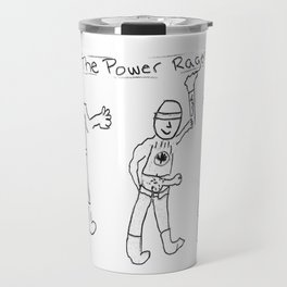 Power Ragers Travel Mug