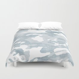 Chambray camo Duvet Cover