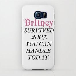 Britney Survived, Britney. iPhone Case