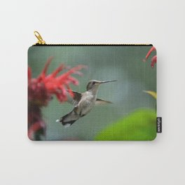 Hummingbird Flying II Carry-All Pouch