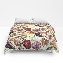 Food Pattern Comforters