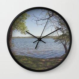 Inks Lake View Wall Clock