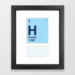 The Hustle Element Framed Art Print