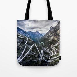 Trollstigen, Norway. Tote Bag