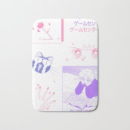 sailormoon fanart Bath Mat