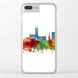 Gloucester England Skyline Clear iPhone Case