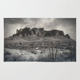 Superstition Mountain - Arizona Desert Rug