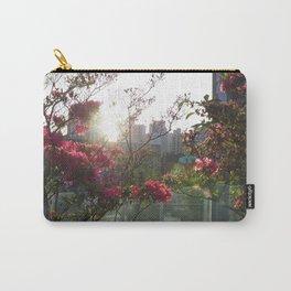 A City Through Petals Carry-All Pouch