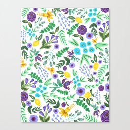 Lavender and Lemons Canvas Print