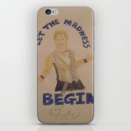 Chris Jericho-Let the Madness Begin. iPhone Skin
