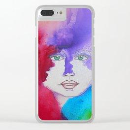 Bella SASS Girlz - Zena - SASS = STRONG and SUPER SMART Clear iPhone Case