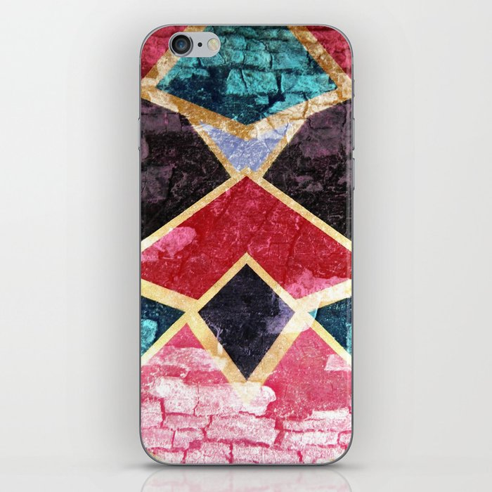 Geometric Texture iPhone Skin
