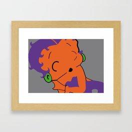 bettyPOP Framed Art Print