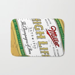 The Champagne of Beers Bath Mat