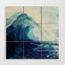 Waves II Wood Wall Art